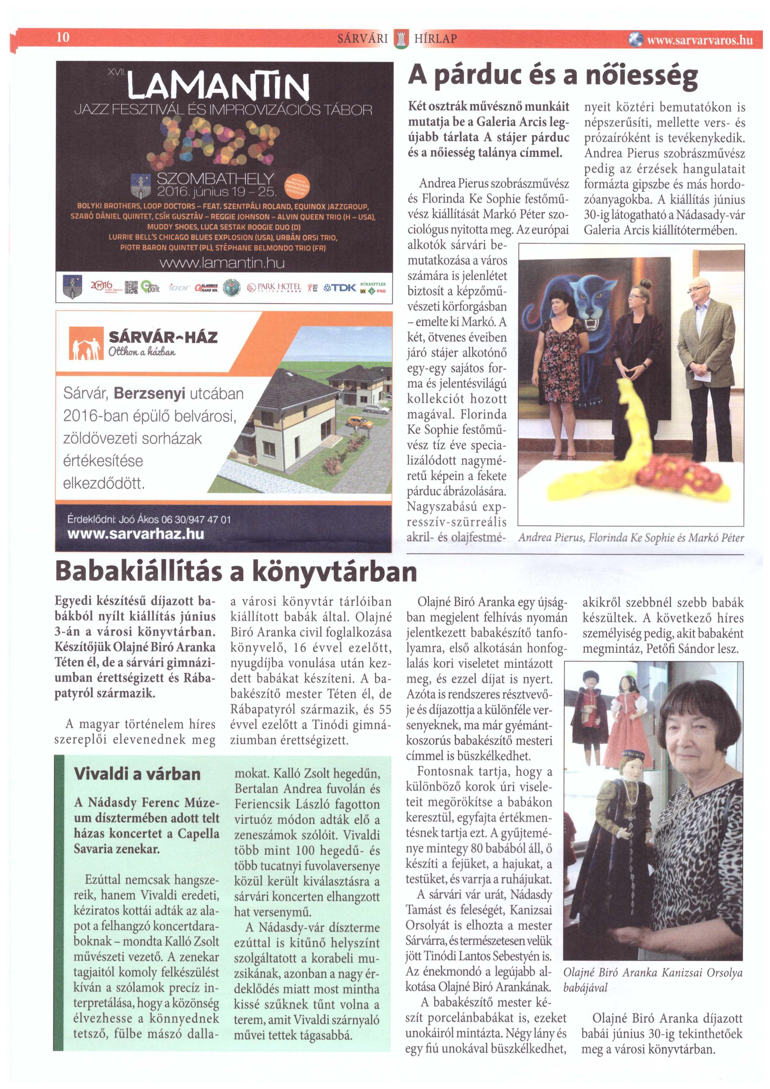 2016-06-17 Sárvári Hírlap